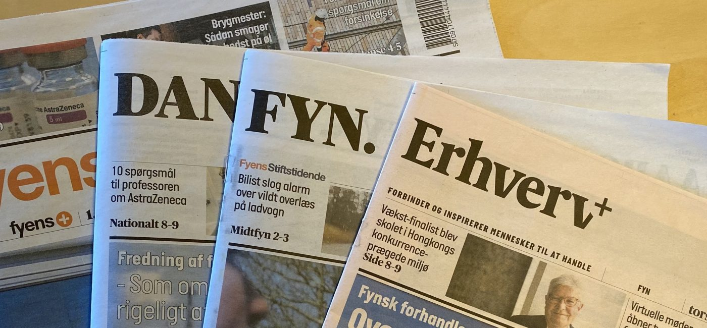 Billede af aviser